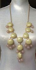 Authentic Original J. Crew Bubble Statement Necklace