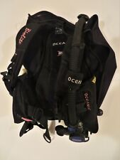 Oceanic Bio-Lite Travel Scuba Diving Bcd with Air Xs 2 Alternate Air Inflator