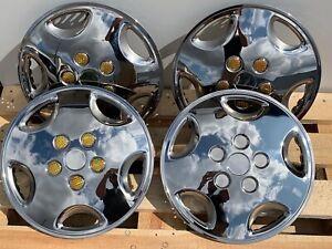 "Renault traffic 16"" inch wheel trim stainless steel SET OF 4"