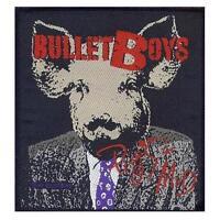 BULLET BOYS AUFNÄHER PATCH # 2 PIGS IN MUD 10x10cm FLICKEN ABZEICHEN