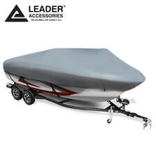 210D Mooring V-hull tri-hull runabouts Boat Cover Fits 17-19Ft Up to 96''