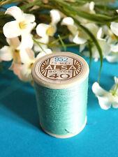 724B / Belle Coil Old DMC Thread Cotton Alsa N° 40 Water Green N° 952