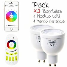 HALOGENOS LED Wifi RGB 4W bombilla COLOR inteligente Controlalo desde smarphone