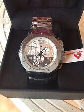 BRAND NEW Swiss Legend Mens 10538-GM-22S Scubador Chronograph Watch