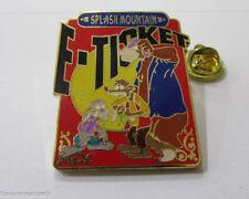 Disney E-Ticket Splash Mountain Pin