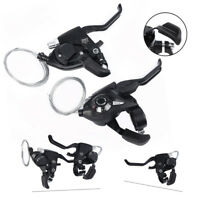 For MTB Bicycle Brake Levers Set Shifter 3x8 24 Speed ST-EF51-8
