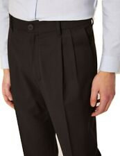ARMANI EXCHANGE Authentic Pleated Front Pant Black NWT Retail $120