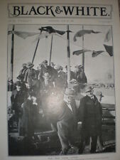 Printed photo Cecil Rhodes leaving Bulawayo for England 1901