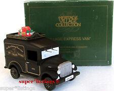 Dept. 56 Village Express Van Black America's Premier Purveyor 1994 Edition 07331