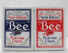 4 Decks US Bee Club Special Playing Cards Poker No.92 Bicycle Mehow Magic Shop