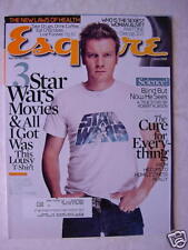 Esquire Magazine June 2005 Ewan McGregor Eva Green +