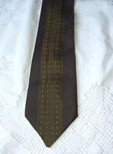 Ancienne cravate des années 50, linge ancien vintage