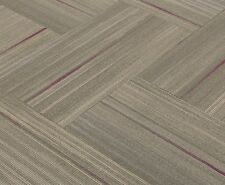 "SHAW Chevron Blur Magenta Fluid Carpet Tiles 18"" x 36"""