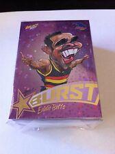 AFL 2017 Select Footy Stars purple starburst complete 72 card set