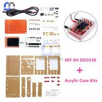 "DSO138 TFT 2.4"" Digital Oscilloscope DIY Kit ( 1Msps ) With Probe + Acrylic Case"