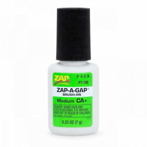 ZAP BRUSH ON Waterproof SUPER GLUE Perfect for Fly Tying & Fly Fishing