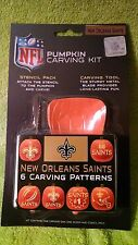 New Orleans Saints NFL Official License Pumpkin Carving Kit Halloween Football