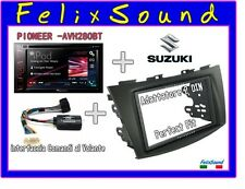KIT AUTORADIO 2DIN PERFECT FIT  SUZUKI SWIFT 2011> + PIONEER AV280BT