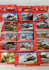 Airfix Starter Set 1:72 Scale Model Kits Including Paints, Glue and Brush
