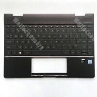 "For HP Spectre X360 13-ae000 13.3"" Brown Palmrest Backlit Keyboard 942040-001"