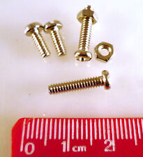 Centronics, D Type, DIN 41612 Connector Fixing 4 Screws and 2 Nuts Kit MBD025D