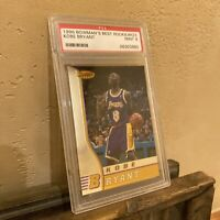 1996 Bowman Best Kobe Bryant #R23 PSA 9 Lakers Rookie RC