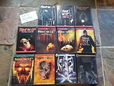 Friday the 13th DVD Movie collection all Jason movies part 1-11 Halloween