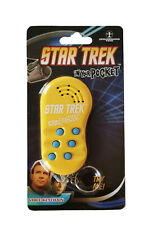 Star Trek in your Pocket Talking Official Keychain Keyring