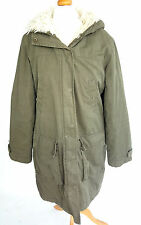 Topshop Knee Length Cotton Casual Coats & Jackets for Women