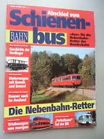 Bahn-Special 3/94 Abschied vom Schienenbus