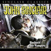 JOHN SINCLAIR CLASSICS-FOLGE - HOCHZEIT DER VAMPIRE  CD NEW