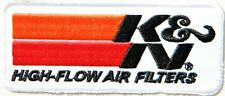 Patch Iron on K & N K&N Air Filters Car Motorcycle Truck Automotive T shirt Sign