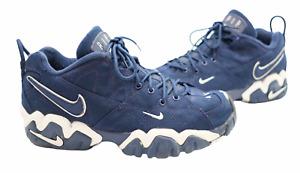 Vintage Nike Air Slant Navy White Canvas 1997 Shoes   UK11