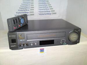 SHARP VC-MH69 VHS VCR Video Recorder - Advanced Child lock - Nicam HiFi Stereo