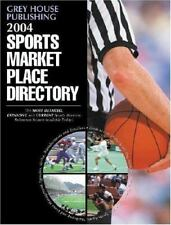 Sports Market Place Directory 2004 by Grey House Publishing