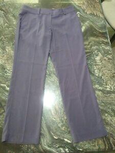 Women's Nike Golf Tour Performance Dri-Fit Size 14 Purple Pants