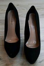 Breckelles Women's High Heels Size 8.5 Black Casual Dress Ladies
