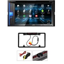 KW-V25BT In-Dash Bluetooth CD/DVD/ Digital Car Stereo Rearview Camera - Black