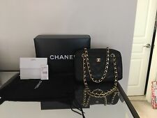Chanel Chevron Camera Bag Purse Handbag Authentic Rare W Box And Dust bag