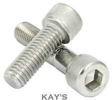 AHC A2 z/ócalo de acero inoxidable tornillo avellanado allen pernos clave m3 3 mm x 12 mm paquete de 100