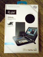 iLuv Galaxy Tab Plus / Tab II 7.0 - CEO Folio Case - Black - New