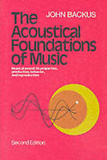 The Acoustical Foundations of Music (Second Edition) by Backus, John