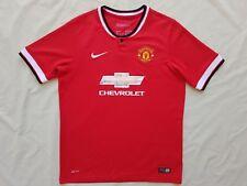 Manchester United FC 2014 2015 Nike Home Jersey Shirt Kids Size 16 - XL