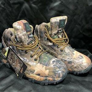 Tamarack Waterproof True Timber Kanati 10.5 M Hiking Hunting Boots 3M Thinsulate