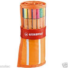 Stabilo point 88 fineliner stylo à bille rouleau art portefeuille de 30