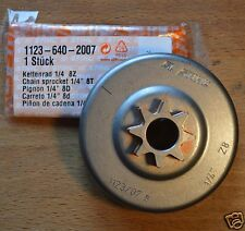 "Genuine STIHL 017 018 1/4 ""piñón Tallado Carver 1123 640 2007 orugas Post"