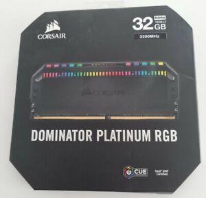 Corsair  DOMINATOR PLATINUM RGB 32GB (2 x 16GB) DDR4 DRAM 3200MHz C16 Memory Kit