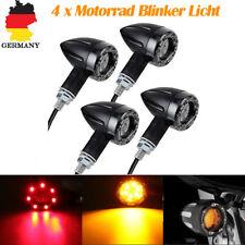 4x 13 LED Universal Motorrad Blinker Bremslicht Lampe 12V ATV Roller Quad Gelb
