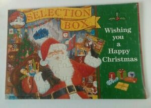 Mars Confectionery jigsaw puzzle Selection Box vintage 1991 Christmas chocolate