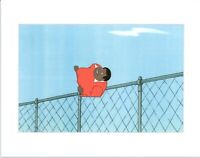 FAT ALBERT & the Gang Production Animation Cel from Filmation 1972-75 b2049